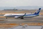 いっとくさんが、関西国際空港で撮影した全日空 767-381/ERの航空フォト(写真)