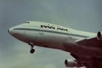 うすさんが、伊丹空港で撮影したパンアメリカン航空 747-121の航空フォト(写真)