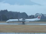 F.KAITOさんが、鹿児島空港で撮影した日本エアコミューター DHC-8-402Q Dash 8の航空フォト(写真)