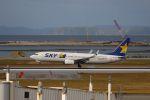 yousei-pixyさんが、那覇空港で撮影したスカイマーク 737-82Yの航空フォト(写真)