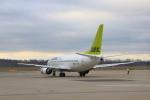 安芸あすかさんが、ウィーン国際空港で撮影したエア・バルティック 737-53Sの航空フォト(写真)