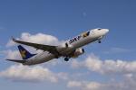 モッチーさんが、茨城空港で撮影したスカイマーク 737-8ALの航空フォト(写真)