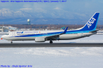 Chofu Spotter Ariaさんが、新千歳空港で撮影した全日空 737-881の航空フォト(写真)