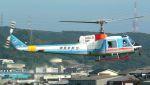 Dauphin2さんが、八尾空港で撮影した中日本航空 204B-2(FujiBell)の航空フォト(写真)