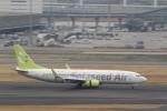 とらとらさんが、羽田空港で撮影したソラシド エア 737-86Nの航空フォト(写真)