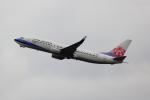 こだしさんが、関西国際空港で撮影したチャイナエアライン 737-8Q8の航空フォト(写真)
