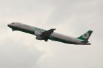 こだしさんが、関西国際空港で撮影したエバー航空 A321-211の航空フォト(写真)