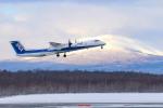 Orcaさんが、新千歳空港で撮影したANAウイングス DHC-8-402Q Dash 8の航空フォト(写真)
