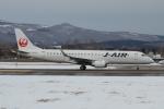 E-75さんが、函館空港で撮影したジェイ・エア ERJ-190-100(ERJ-190STD)の航空フォト(写真)