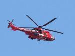 丸めがねさんが、東京ヘリポートで撮影した東京消防庁航空隊 EC225LP Super Puma Mk2+の航空フォト(写真)