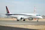 yanaさんが、名古屋飛行場で撮影した三菱航空機 MRJ90STDの航空フォト(写真)