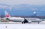 kitayocchiさんが、新千歳空港で撮影した日本航空 737-846の航空フォト(写真)