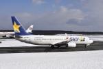 kurubouzuさんが、新千歳空港で撮影したスカイマーク 737-81Dの航空フォト(写真)