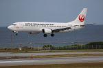 yousei-pixyさんが、那覇空港で撮影した日本トランスオーシャン航空 737-446の航空フォト(写真)
