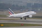 pringlesさんが、チューリッヒ空港で撮影したエールフランス航空 A318-111の航空フォト(写真)