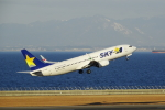 せせらぎさんが、中部国際空港で撮影したスカイマーク 737-81Dの航空フォト(写真)