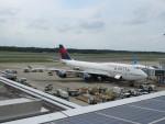 今ちゃんさんが、成田国際空港で撮影したデルタ航空 747-451の航空フォト(写真)