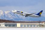Orcaさんが、新千歳空港で撮影したスカイマーク 737-8HXの航空フォト(写真)