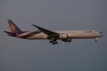 木人さんが、成田国際空港で撮影したタイ国際航空 777-3D7の航空フォト(写真)