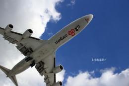 けーし135Rさんが、小松空港で撮影したカーゴルクス 747-8R7F/SCDの航空フォト(写真)