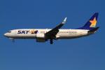 武彩航空公司(むさいえあ)さんが、羽田空港で撮影したスカイマーク 737-82Yの航空フォト(写真)