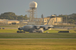 kon chanさんが、嘉手納飛行場で撮影したアメリカ空軍 C-17A Globemaster IIIの航空フォト(写真)