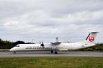 なないろさんが、与論空港で撮影した日本エアコミューター DHC-8-402Q Dash 8の航空フォト(写真)