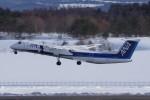 gomachanさんが、青森空港で撮影したANAウイングス DHC-8-402Q Dash 8の航空フォト(写真)