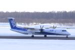 うとさんが、新千歳空港で撮影したANAウイングス DHC-8-402Q Dash 8の航空フォト(写真)