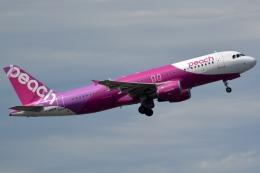 kansai-spotterさんが、成田国際空港で撮影したピーチ A320-214の航空フォト(写真)