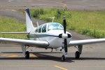 yoyotoruさんが、大島空港で撮影した法人所有 C33A Debonair  (35-C33A)の航空フォト(写真)