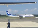 職業旅人さんが、熊本空港で撮影した全日空 767-381/ERの航空フォト(写真)