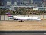 猛虎ファンさんが、伊丹空港で撮影したアイベックスエアラインズ CL-600-2C10 Regional Jet CRJ-702の航空フォト(写真)
