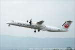 tabi0329さんが、鹿児島空港で撮影した日本エアコミューター DHC-8-402Q Dash 8の航空フォト(写真)