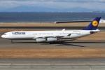Wings Flapさんが、中部国際空港で撮影したルフトハンザドイツ航空 A340-313Xの航空フォト(写真)
