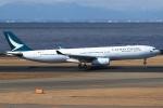 Wings Flapさんが、中部国際空港で撮影したキャセイパシフィック航空 A330-342Xの航空フォト(写真)