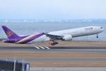 Wings Flapさんが、中部国際空港で撮影したタイ国際航空 777-3AL/ERの航空フォト(写真)
