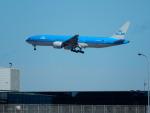 エアキヨさんが、成田国際空港で撮影したKLMオランダ航空 777-206/ERの航空フォト(写真)