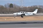 turenoアカクロさんが、高松空港で撮影した学校法人ヒラタ学園 航空事業本部 Baron G58の航空フォト(写真)