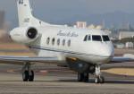 SHIKIさんが、名古屋飛行場で撮影したダイヤモンド・エア・サービス G-1159 Gulfstream IIの航空フォト(写真)