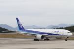 安芸あすかさんが、広島空港で撮影した全日空 777-281の航空フォト(写真)