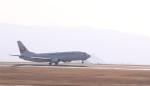 ぷぅちゃんさんが、岡山空港で撮影した日本トランスオーシャン航空 737-446の航空フォト(写真)