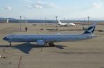 SIさんが、中部国際空港で撮影したキャセイパシフィック航空 777-367/ERの航空フォト(写真)