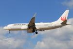 スターアライアンスKMJ H・Rさんが、熊本空港で撮影した日本航空 737-846の航空フォト(写真)