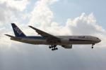 さちやちさんが、福岡空港で撮影した全日空 777-281の航空フォト(写真)