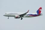 zettaishinさんが、香港国際空港で撮影したネパール航空 A320-233の航空フォト(写真)