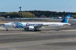Tomo-Papaさんが、成田国際空港で撮影したエジプト航空 777-36N/ERの航空フォト(写真)