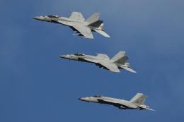 isiさんが、厚木飛行場で撮影したアメリカ海軍 F/A-18E Super Hornetの航空フォト(写真)
