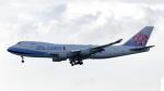 誘喜さんが、香港国際空港で撮影したチャイナエアライン 747-409F/SCDの航空フォト(写真)