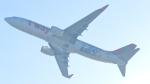 誘喜さんが、関西国際空港で撮影したティーウェイ航空 737-8HXの航空フォト(写真)
